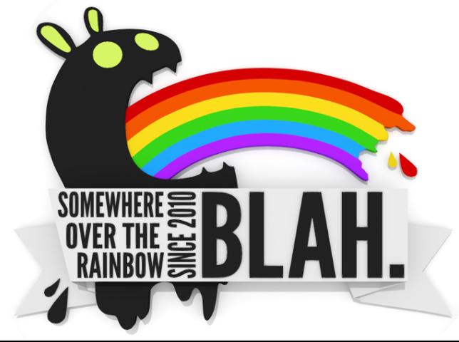 blah.